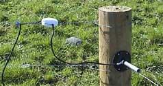 Sprong Electric Fence Gate Centre Pivot Gateway